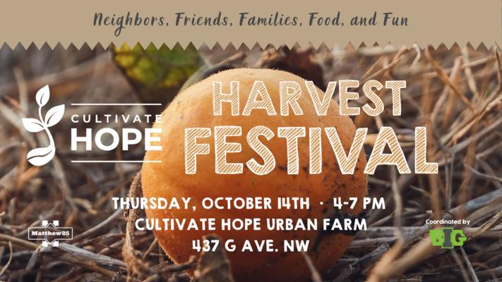 Cultivate Hope Harvest Festival