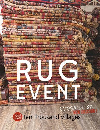 Fair Trade Rug Event