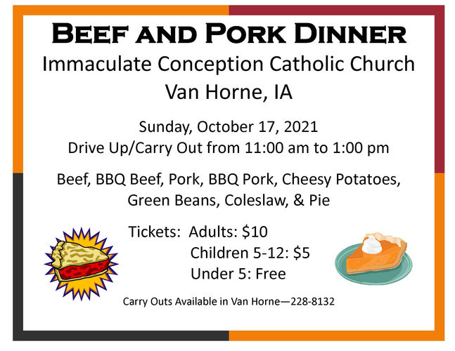 Beef & Pork Dinner