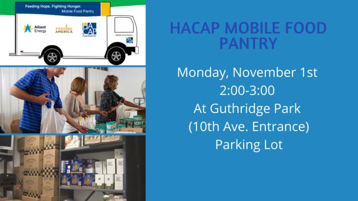 HACAP Mobile Food Pantry