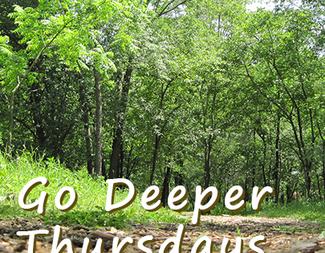 Search go deeper thursdays square