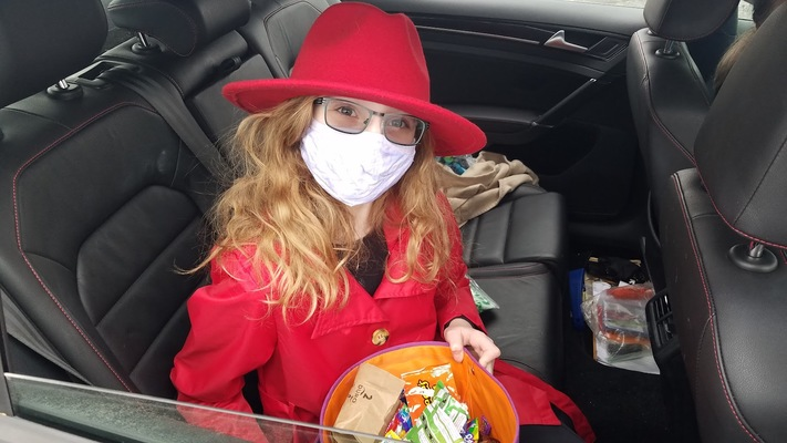 Drive Through Safe Halloween at Ushers Ferry
