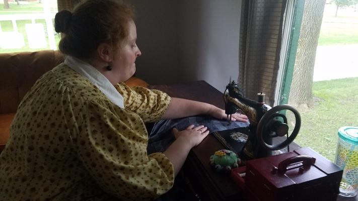 Grandma's Singer Sewing School