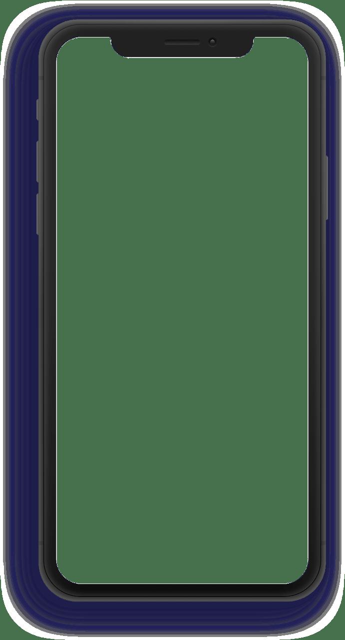 iPhone overlay