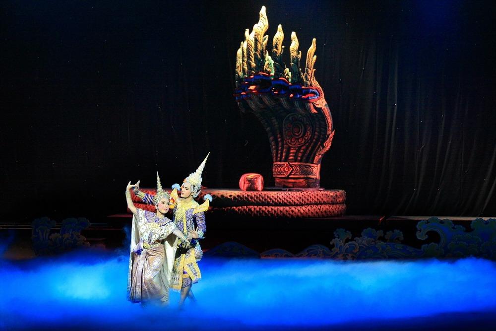 Khon-Thai Classical Masked Dance at the Sala Chalermkrung Royal Theatre