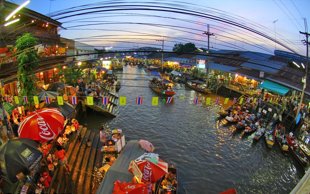 Amphawa Floating Market Tour