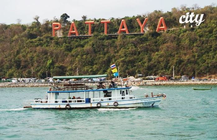 Pattaya and Coral Island Koh Larn from Bangkok