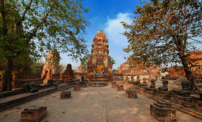 Ayutthaya Tour by Grand Pearl Cruise