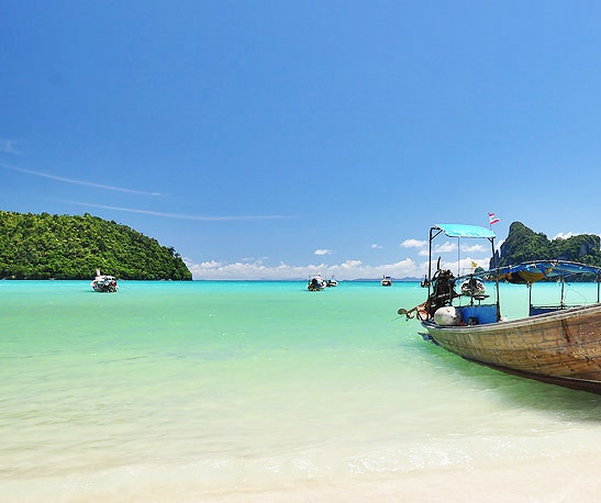 Krabi 4 Islands (by long tail boat)