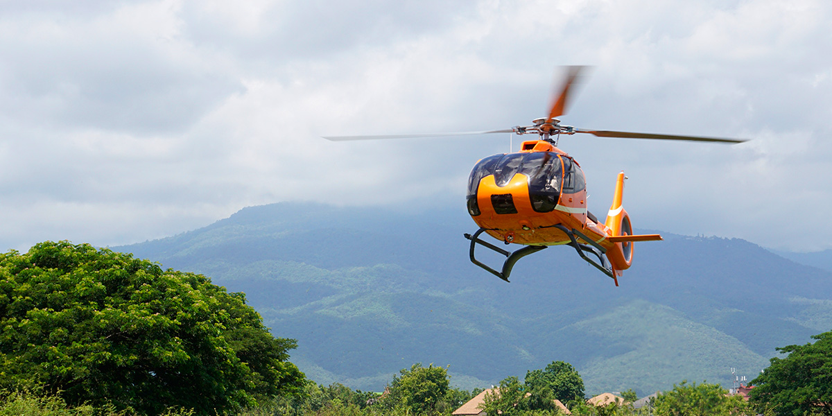 Scenic Flight over Chiang Mai