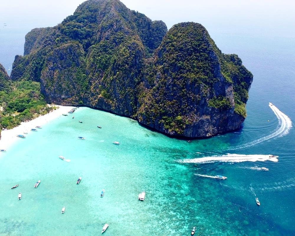 Picture ทัวร์ หมู่เกาะพีพี อ่าวมาหยา ด้วยเรือสปีดโบ๊ท, กิจกรรมทางน้ำ, กระบี่