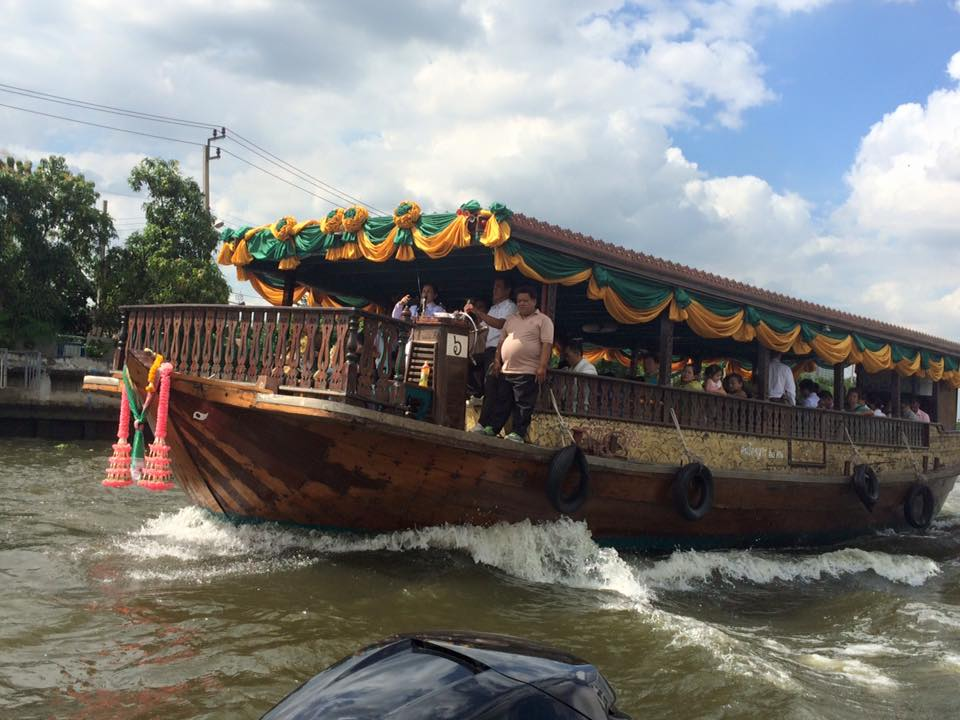 Chao Phraya Rice Barge Cruises by Siam River Cruise
