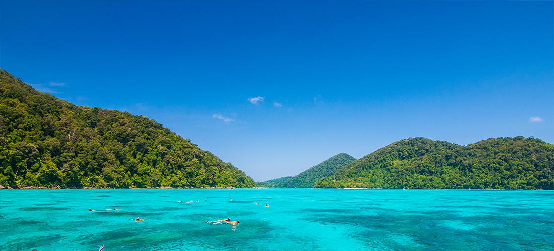 ทัวร์หมู่เกาะสุรินทร์โดยเรือสปีดโบ๊ท (ออกเดินทางจากกระบี่)