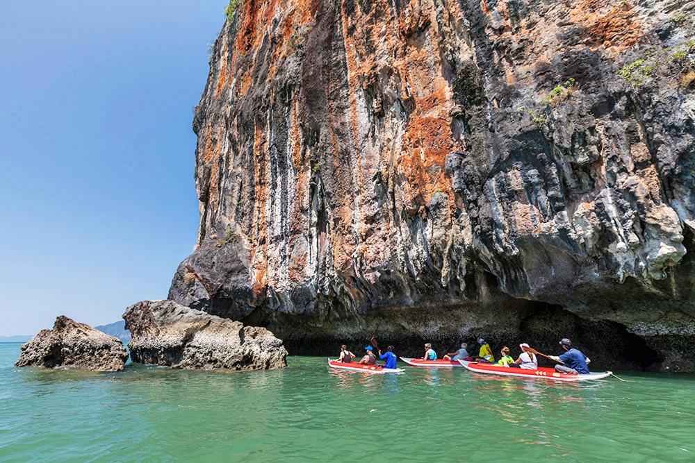 James Bond Island And Sea Cave Canoe From Khaolak Phang Nga