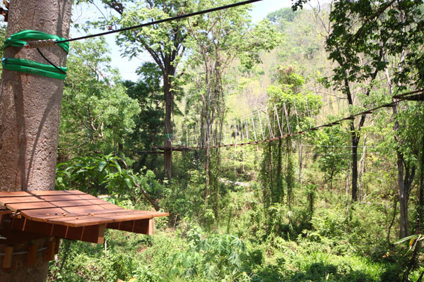 Tree Top Adventure Park Kanchanaburi