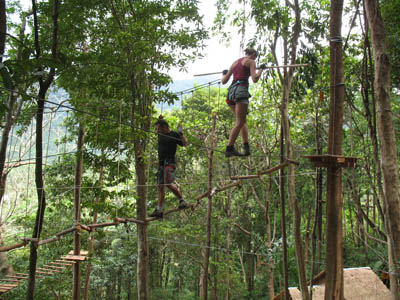 Tree Top Adventure Park Koh Chang