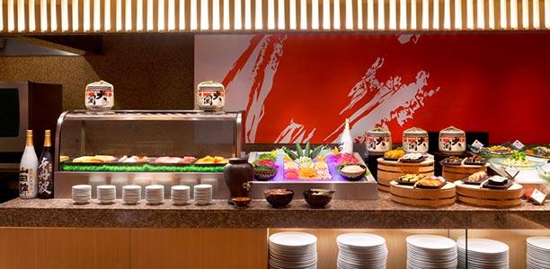 ห้องอาหารเน็กซ์ทู คาเฟ่แอนด์เทอร์เรซ โรงแรมแชงกรีลา กรุงเทพฯ