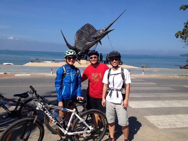 ทัวร์ปั่นจักรยานกระบี่ (ครึ่งวัน)