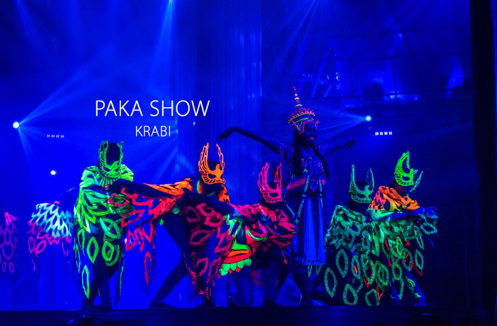 Illumination Nora at Paka Show Park Krabi