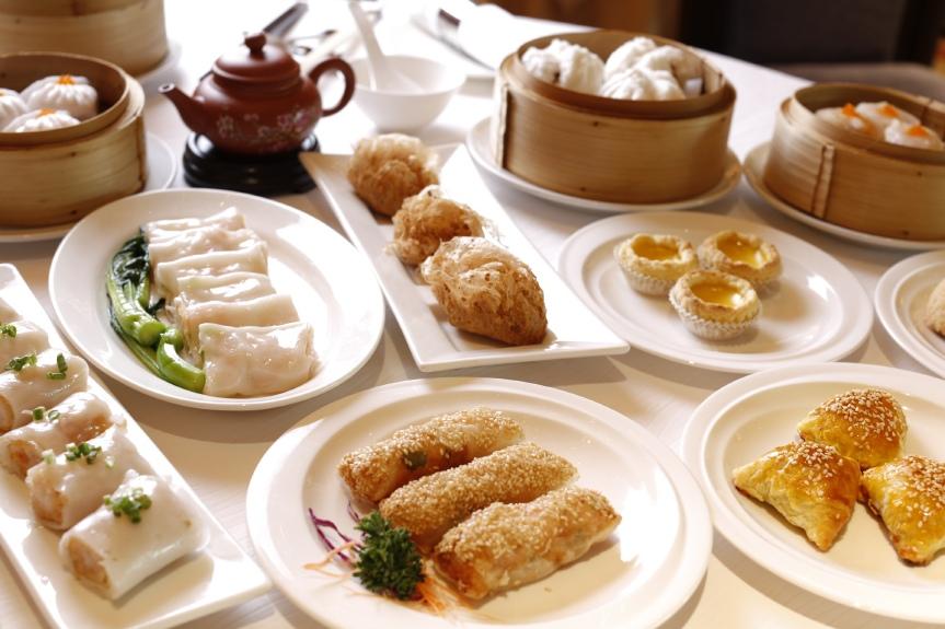 บุฟเฟ่ต์ติ่มซำ ณ ห้องอาหารจีนแชงพาเลซ, โรงแรม แชงกรี-ลา กรุงเทพฯ