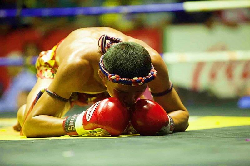 Thai Boxing at Rajadamnern Stadium