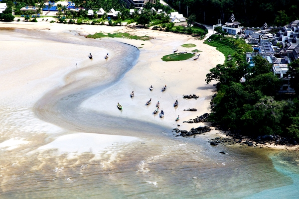 Phuket Beach Helicopter Tour