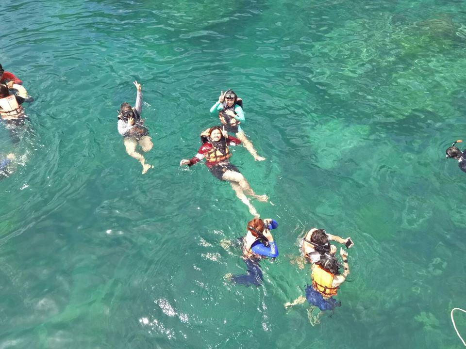 ดำน้ำดูปะการัง ที่หมู่เกาะชุมพร