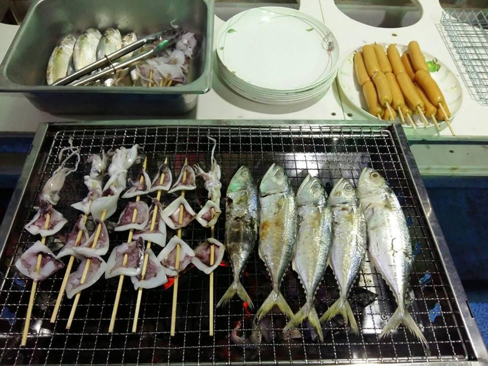 Night Squid Fishing Tour