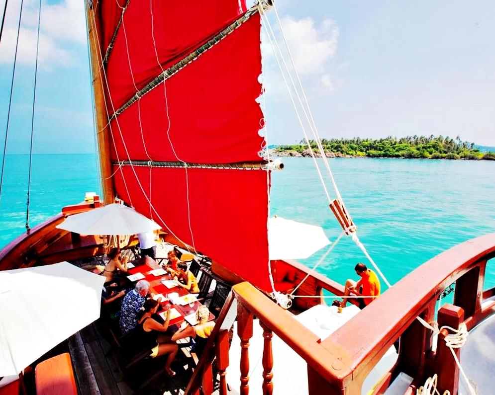 ล่องเรือเกาะพงันโดยเรดบารอน