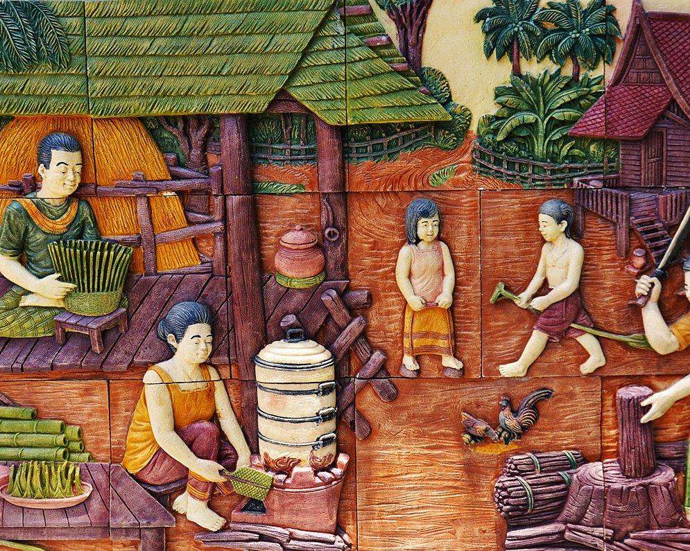 เที่ยวไทยชมวิถีชาวพุทธแล้วไปหยุดที่โรงเรียน