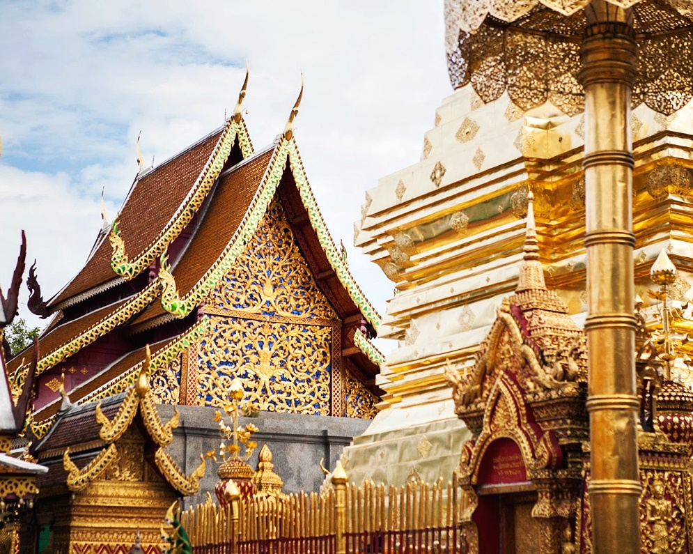 Wat Phra That Doi Suthep Phuping Palace Chiang Mai