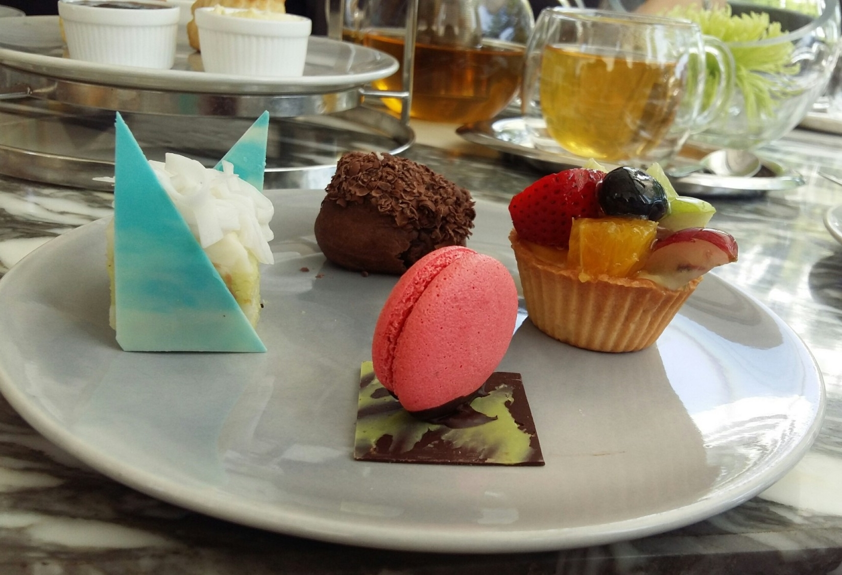 Afternoon Tea Set at Pastry Addiction at Mera Mare Hotel Pattaya