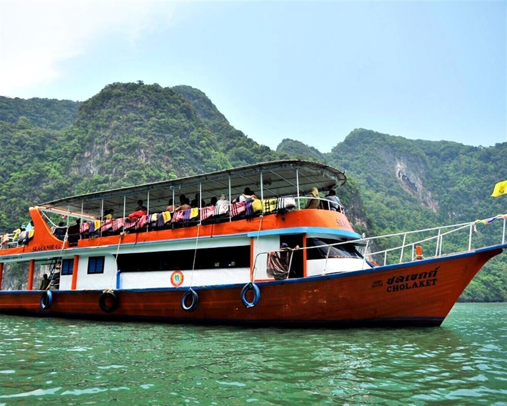 Picture ทัวร์เกาะเจมส์บอน เขาตะปู เต็มวันโดยเรือใหญ่, กิจกรรมทางน้ำ, ภูเก็ต
