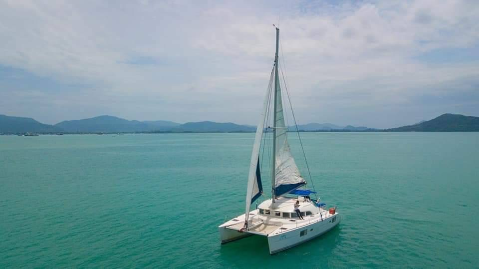 Raya and Coral Island by Yacht Catamaran