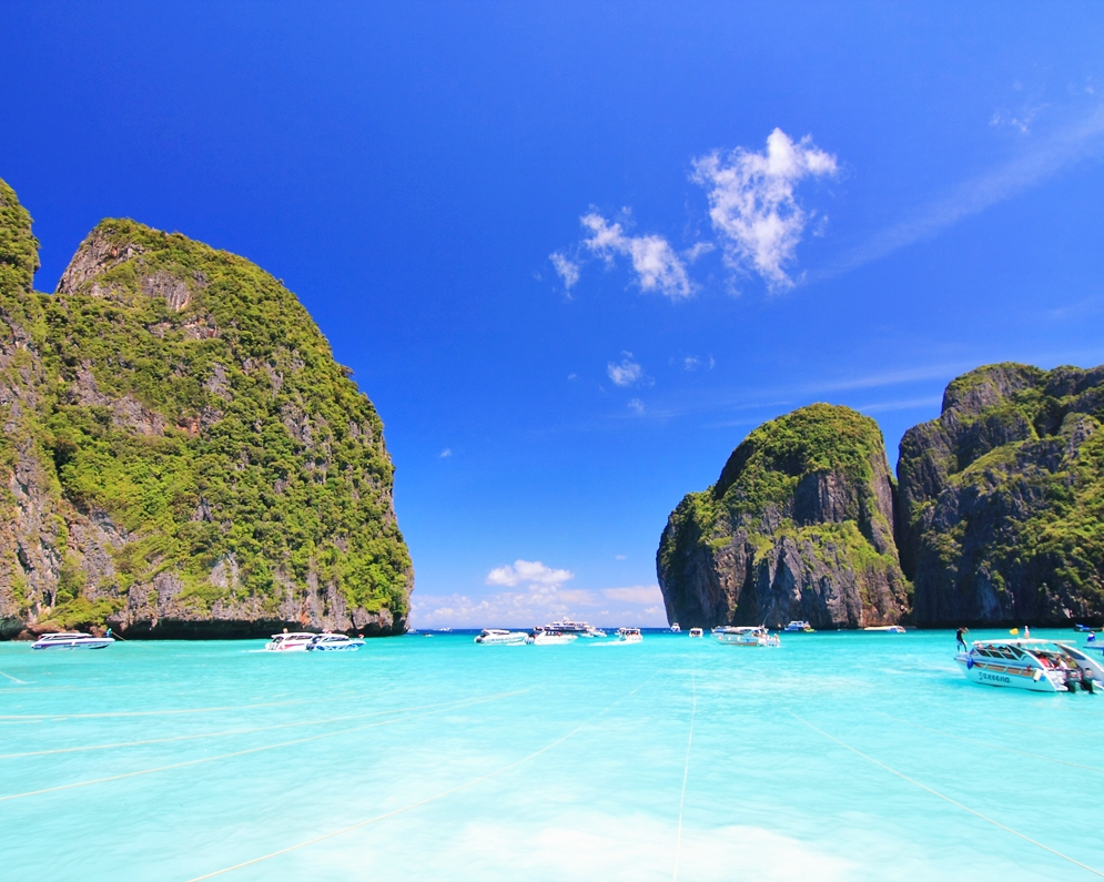 ทัวร์เกาะพีพี มาหยา เกาะไข่ เกาะไม้ไผ่ เรือออกจากภูเก็ต