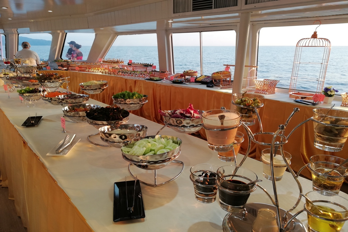 Sunset Dinner Cruise by Andaman Sea Cruise