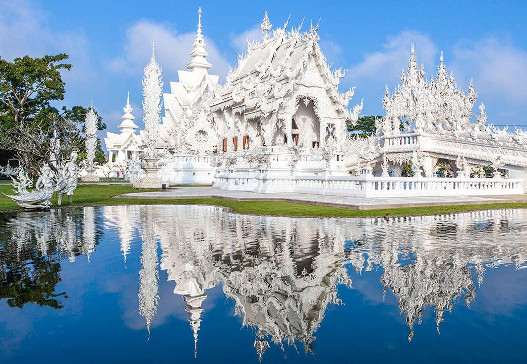 Chiang Rai One Day Tour Wat Rong Khun and Karen Long Neck