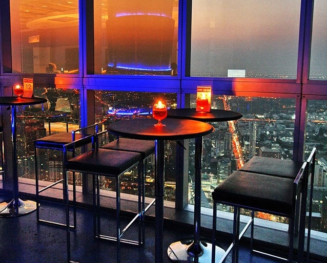 Roof Top Bar on 83rd Floor Baiyoke Sky Hotel