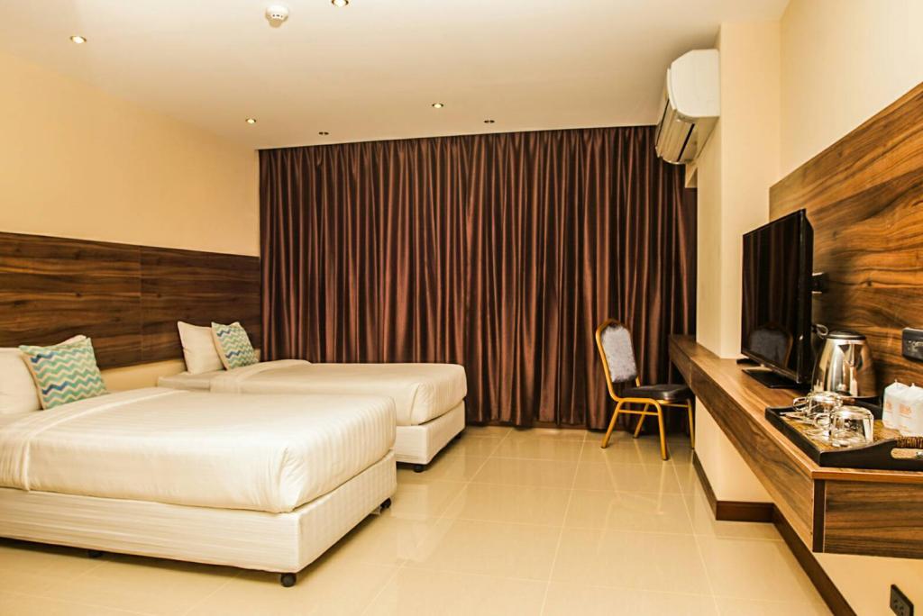 โรงแรมเอวาน่า แหลมฉบัง บูติก ชลบุรี