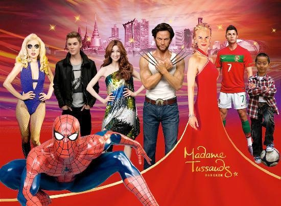 2 in 1 Combo Ticket: Madame Tussauds + Line Village Bangkok