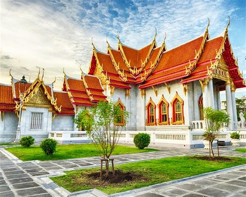 2 in 1 Combo Ticket: Chao Phraya Princess Cruise + Temples and Bangkok City Tour