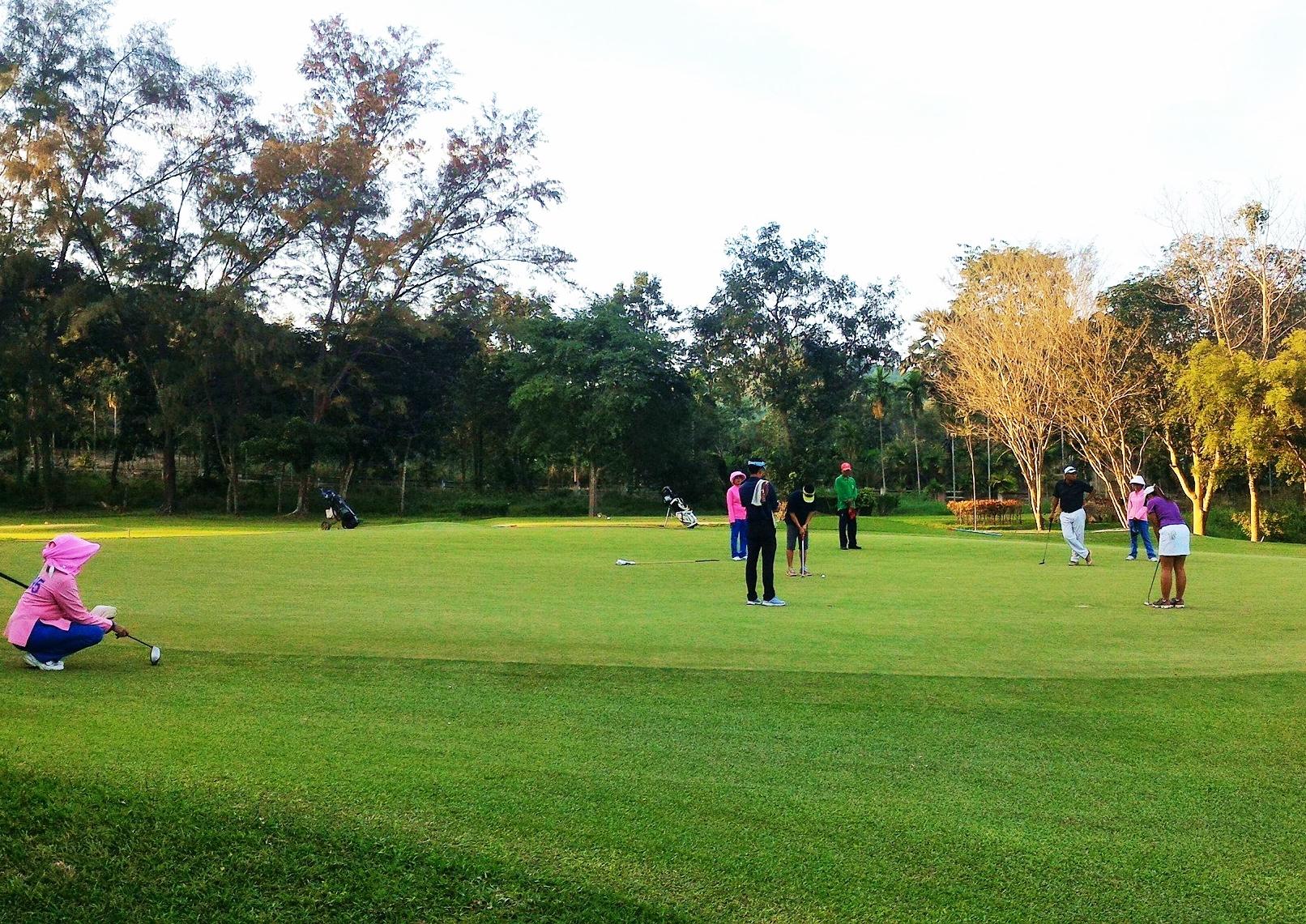 Plutaluang Navy Golf Club Pattaya