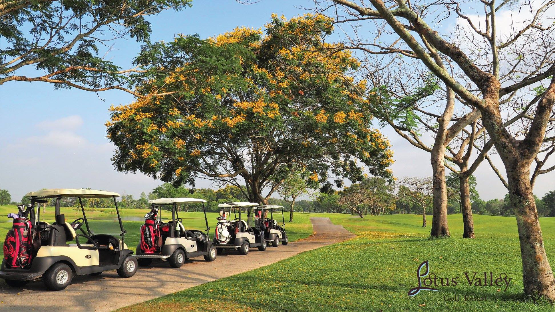 Lotus Valley Golf Course Chachoengsao