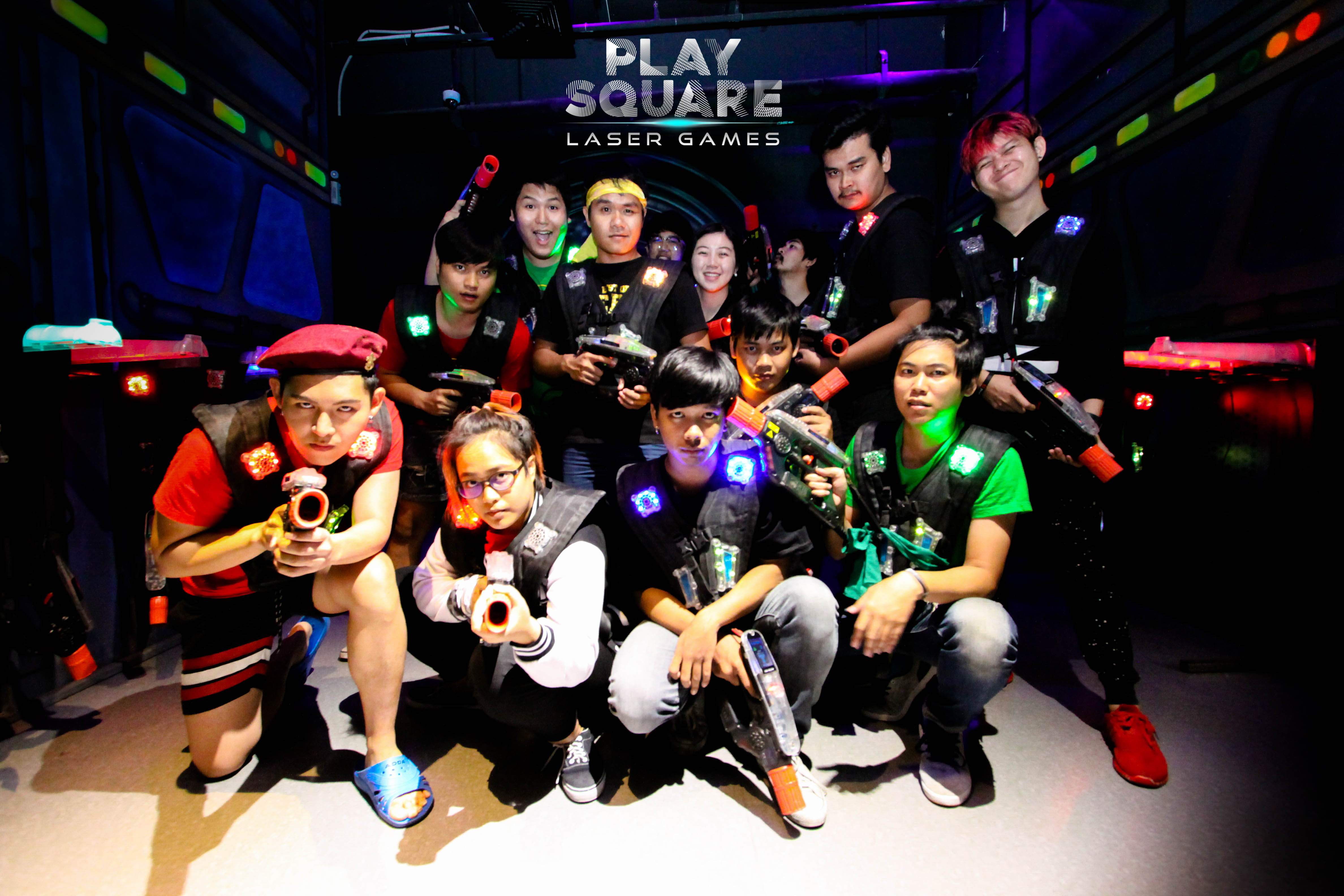 Play Square Laser Tag at Central Eastville