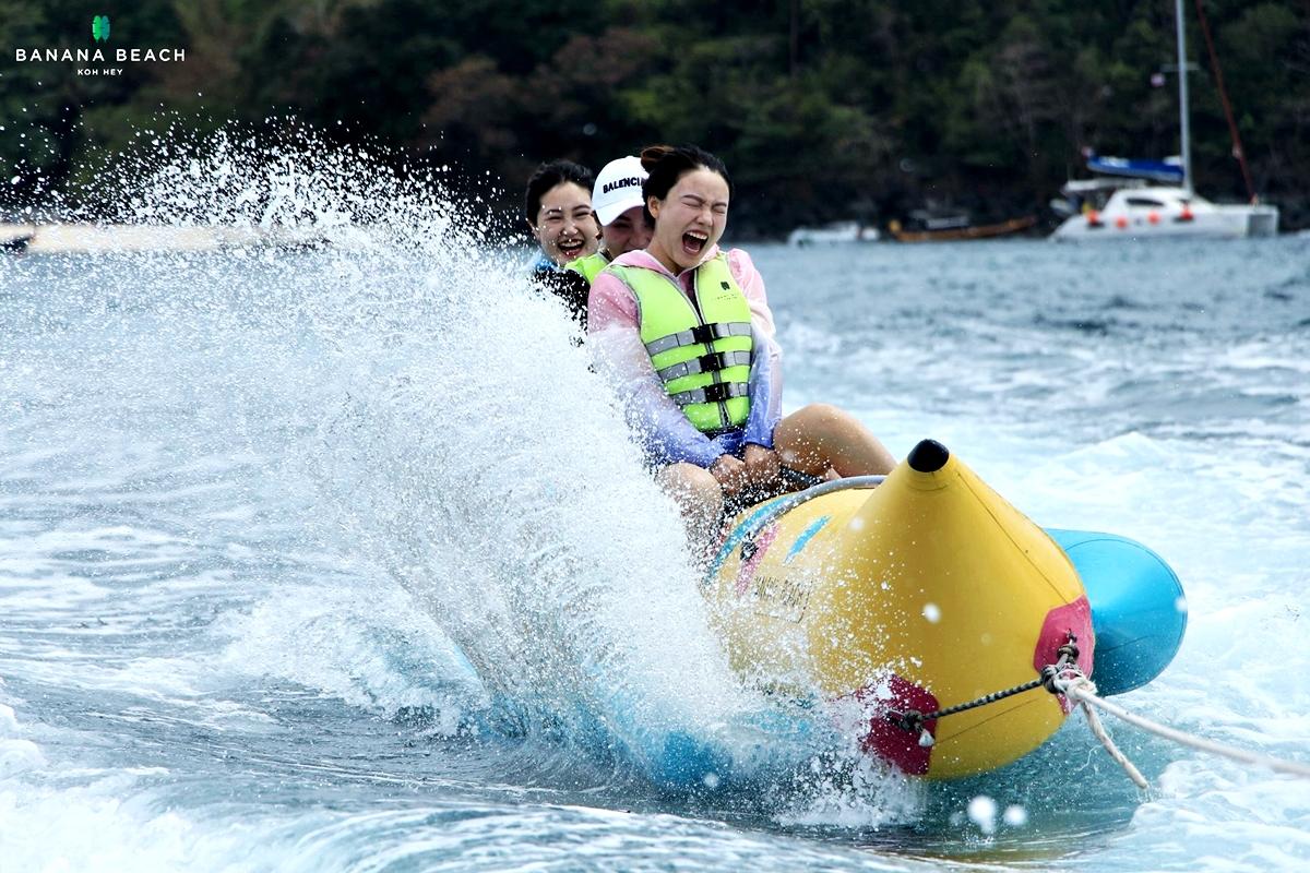Banana Beach Koh Hey Snorkeling by Speed Boat