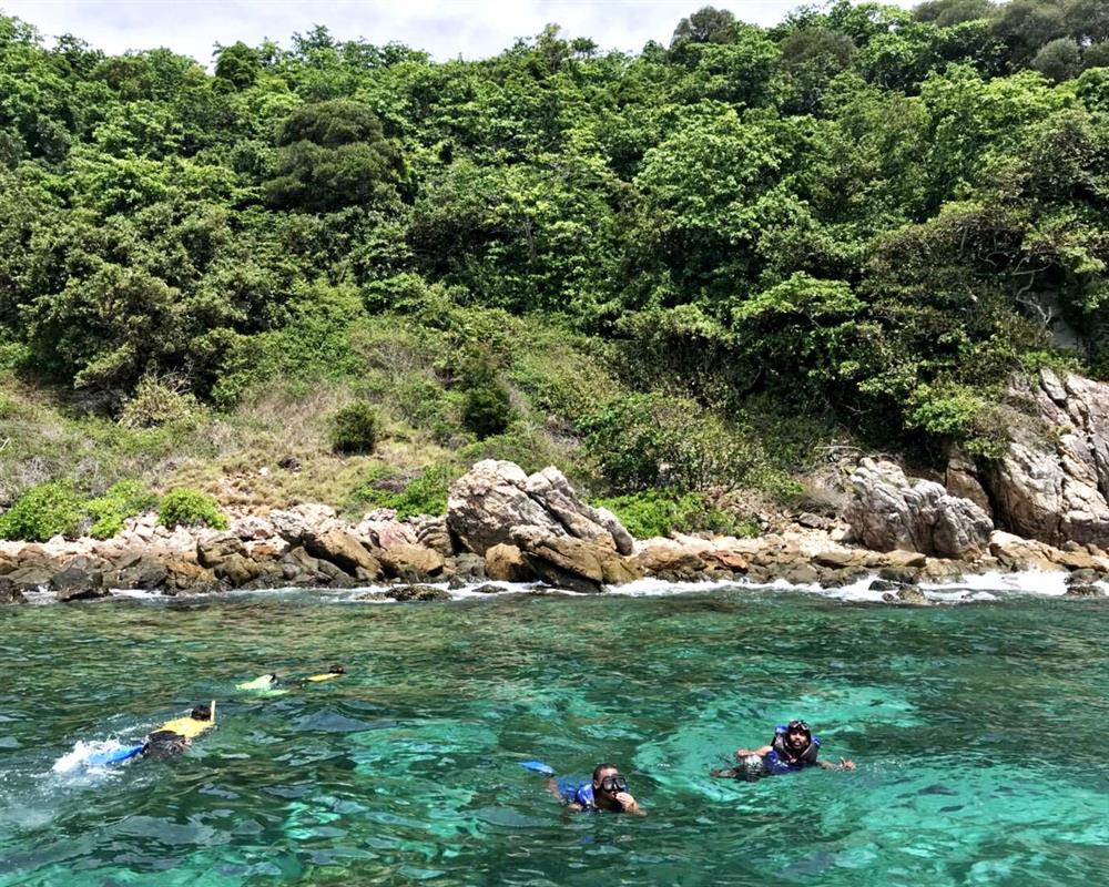 ทัวร์ 4 เกาะ 7 จุด พีพี เกาะไม้ท่อน เกาะเขียว เกาะไข่