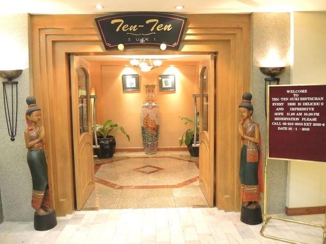 Ten Ten Suki Restaurant at The Twin Towers Hotel Bangkok