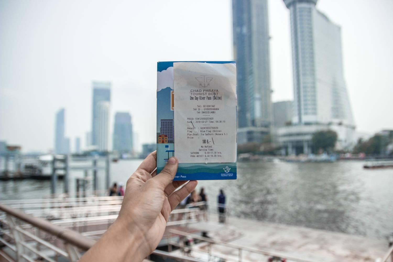 ตั๋วเรือเจ้าพระยาทัวร์ริสโบ๊ท ฮ๊อบออน ฮ๊อบอ๊อฟ 1 วัน