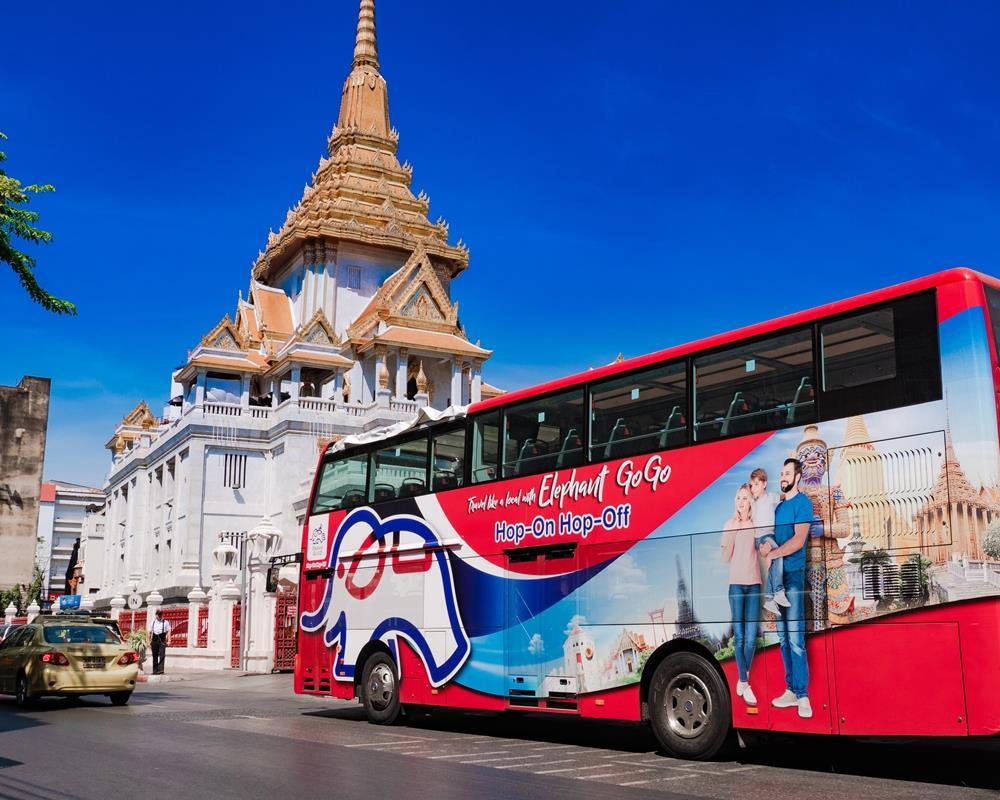 Hop On Hop Off Bus in Bangkok by Elephant GoGo