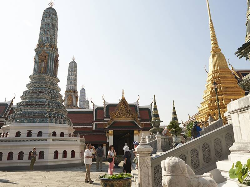 SIAM HOP Sightseeing Tour in Bangkok